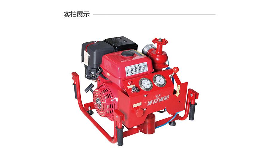 浙安手抬機動消防泵 13馬力