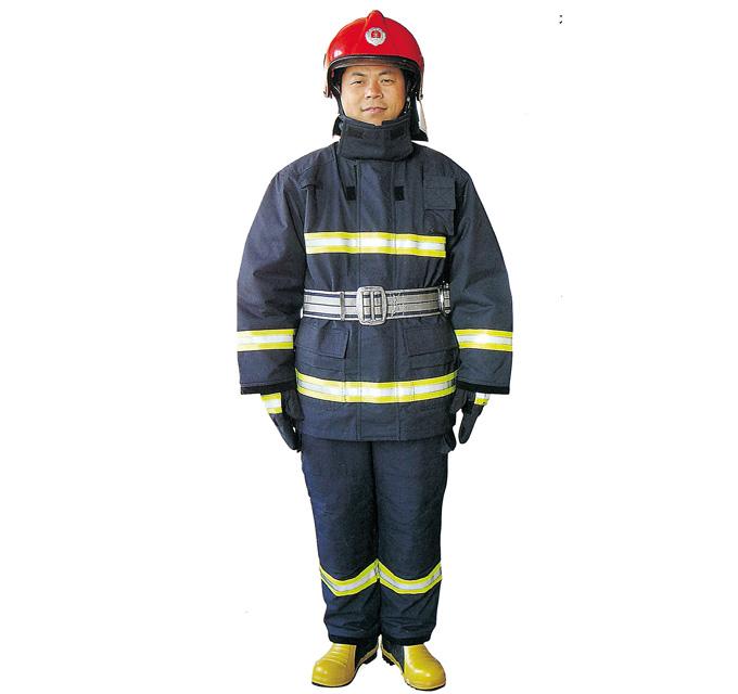 2002型消防員防護服(紅頭盔)