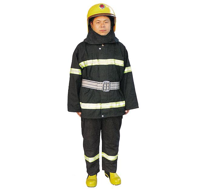 2002型消防员战斗服(黄头盔)