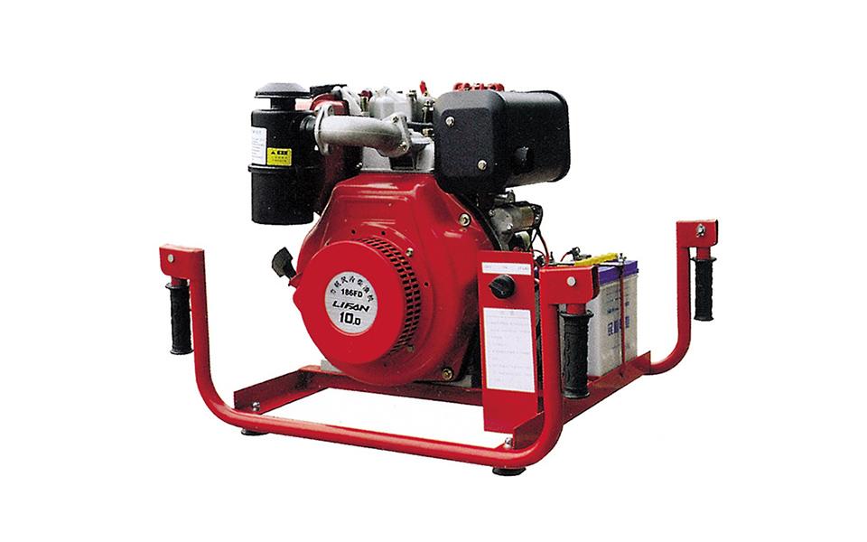 柴油機手抬機動消防泵(10馬力
